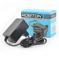 Сетевой импульсный блок питания 2А 12В 24Вт для Wi-Fi роутеров  Robiton IR12-24W положительная полярность (штекер 12х4х1,7 мм)