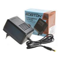 Сетевой трансформаторный стабилизированный блок питания 0.5А 12В 6Вт Robiton AB12-500S положительная полярность (штекер 12х5,5х2,1 мм)