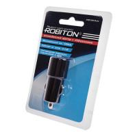 Автомобильное зарядное устройство ROBITON USB1000-Auto 12-24В