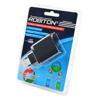 Блок питания USB3.0 Robiton QuickCharger3.0 черный