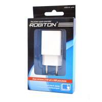 Сетевой блок питания ROBITON USB2100 white 2100мАч 100-240В