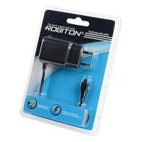 Зарядное устройство для телефона ROBITON TinyCharger-MicroUSB 1000мАч 100-240В
