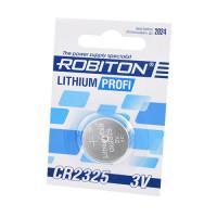 Дисковая литиевая батарейка Robiton CR2325, Li-MnO2, 1шт