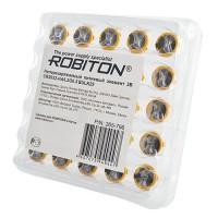 Дисковые литиевые батарейки с выводами под пайку Robiton CR2032-HA6.2/20.5, Li-MnO2, 25шт