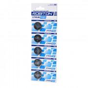 Дисковая литиевая батарейка Robiton CR2032, Li-MnO2, 5шт