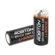 Специальная литиевая батарейка Li-SOCl2 Robiton ER14335 2/3АА 1600 мАч 3.6В