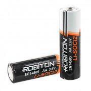 Специальная литиевая батарейка Li-SOCl2 Robiton ER14505 АА 2400 мАч 3.6В