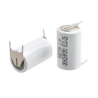 Литиевая батарейка Robiton Li-NnO2 CR 14250 1/2АА 3 В 650 мАч с выводами под пайку