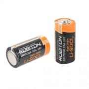 Специальная литиевая высокотоковая батарейка Li-SOCl2 Robiton ER17335M 2/3А 1900 мАч 3.6В