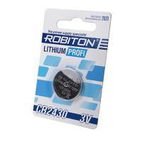 Дисковая литиевая батарейка Robiton CR2430, Li-MnO2, 1шт