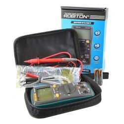 Мультиметр цифровой Robiton DMM-850 с подсветкой и автовыключением