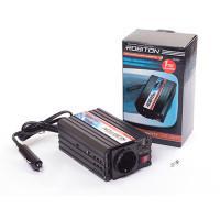 Инвертор преобразователь напряжения автомобильный 12-220В ROBITON R200 150Вт модифицированный синус выход 1 розетка и USB