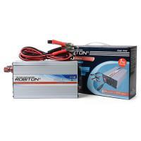 Инвертор преобразователь напряжения автомобильный 12-220В ROBITON R300 PSW 300Вт чистый синус выход 1 розетка и USB