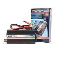 Инвертор преобразователь напряжения автомобильный 24-220В ROBITON R500/24V 500Вт модифицированный синус выход 1 розетка и USB