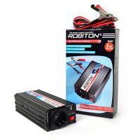 Инвертор преобразователь напряжения автомобильный 12-220В ROBITON R500 500Вт модифицированный синус выход 1 розетка и USB