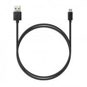 Кабель питания USB - Micro-USB Robiton 1м черный