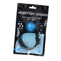 Кабель USB-Type-C ROBITON P6 стандартный 100 см с передачей данных