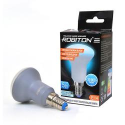 Лампа светодиодная Robiton E14, 5Вт, 4000К, рефлектор