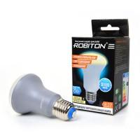 Лампа светодиодная Robiton E27, 8Вт, 6500К, рефлектор