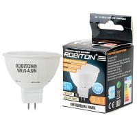 Лампа светодиодная Robiton GU5.3, 4,6Вт, 2700К, рефлектор