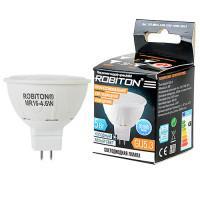 Лампа светодиодная Robiton GU5.3, 4,6Вт, 4200К, рефлектор