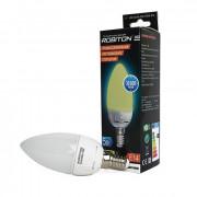 Лампа светодиодная Robiton E14, 5Вт, 2700К, свеча