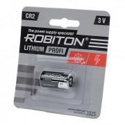 Литиевая батарейка Li-MNO2 Robiton CR2 3В