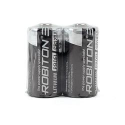 Батарейка литиевая Li-MNO2 Robiton CR123A 3В 1500 мАч 2шт