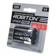 Литиевая батарейка Li-MNO2 Robiton 2CR5 6В