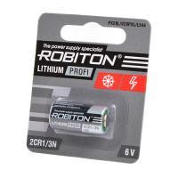 Литиевая батарейка Li-MNO2 Robiton 2CR1/3N 6В