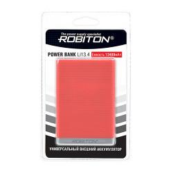 Power Bank Robiton Li13.4-K 13400мАч красный (внешний аккумулятор) 1шт