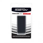 Power Bank Robiton Li5.2-K 5200мАч черный (внешний аккумулятор) 1шт