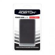 Power Bank Robiton Li7.8-K 7800мАч черный (внешний аккумулятор) 1шт