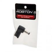 Штекер разъем ROBITON NB-LUAQ 5.5х1.9х12 мм угловой для блока питания ноутбуков и нетбуков Acer