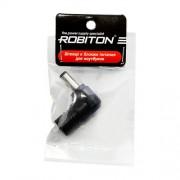 Штекер разъем ROBITON NB-MAQ 5.5х1.9х12 мм угловой для блока питания ноутбуков и нетбуков Acer