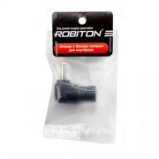 Штекер разъем ROBITON NB-MNX 4.0х1.7х11.5 мм угловой для блока питания ноутбуков и нетбуков Compaq mini, HP, Dell, Acer