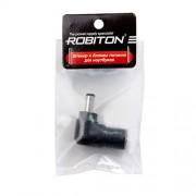 Штекер разъем ROBITON NB-MF 5.0х2.5х10 мм угловой для блока питания ноутбуков и нетбуков Asus EEE PC