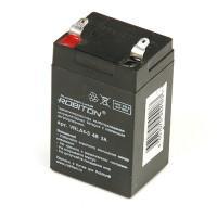 Свинцово-кислотный герметичный необслуживаемый аккумулятор 4В 3 Ач Robiton VRLA4-3