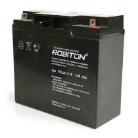 Свинцово-кислотный герметичный необслуживаемый аккумулятор 12В 18 Ач Robiton VRLA12-18