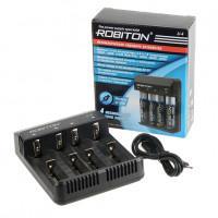 Автоматическое зарядное устройство Li-Ion Robiton Li-4 для 4-х литиевых аккумуляторов