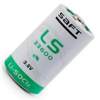 Специальная литиевая батарейка Saft LS 33600 17000 мАч 3,6В D
