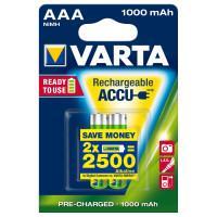 Аккумуляторы Ni-Mh Varta 5703 Recharge Accu Power AAA 1000мАч 1,2В 2шт