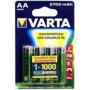 Аккумуляторы Varta AA 2700мАч 4шт