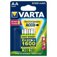 Аккумуляторы Ni-Mh Varta 56706 Recharge Accu Power AA 2100мАч 1,2В 2шт