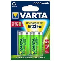 Аккумуляторы Ni-Mh Varta 56714 Recharge Accu Power C 3000мАч 1,2В 2шт