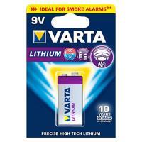 Батарейка Varta 6122 Ultra Lithium 9В Крона литиевая 1шт