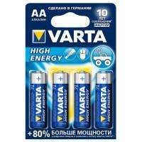 Батарейки Varta High Energy AA 4шт