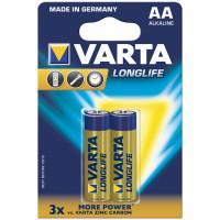 Батарейки Varta 4106 Longlife AA 1,5В щелочные 2шт