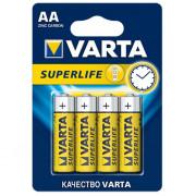 Батарейки Varta 2006 Superlife AA 1,5В солевые 4шт