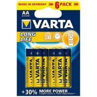 Батарейки Varta Longlife AA 6шт